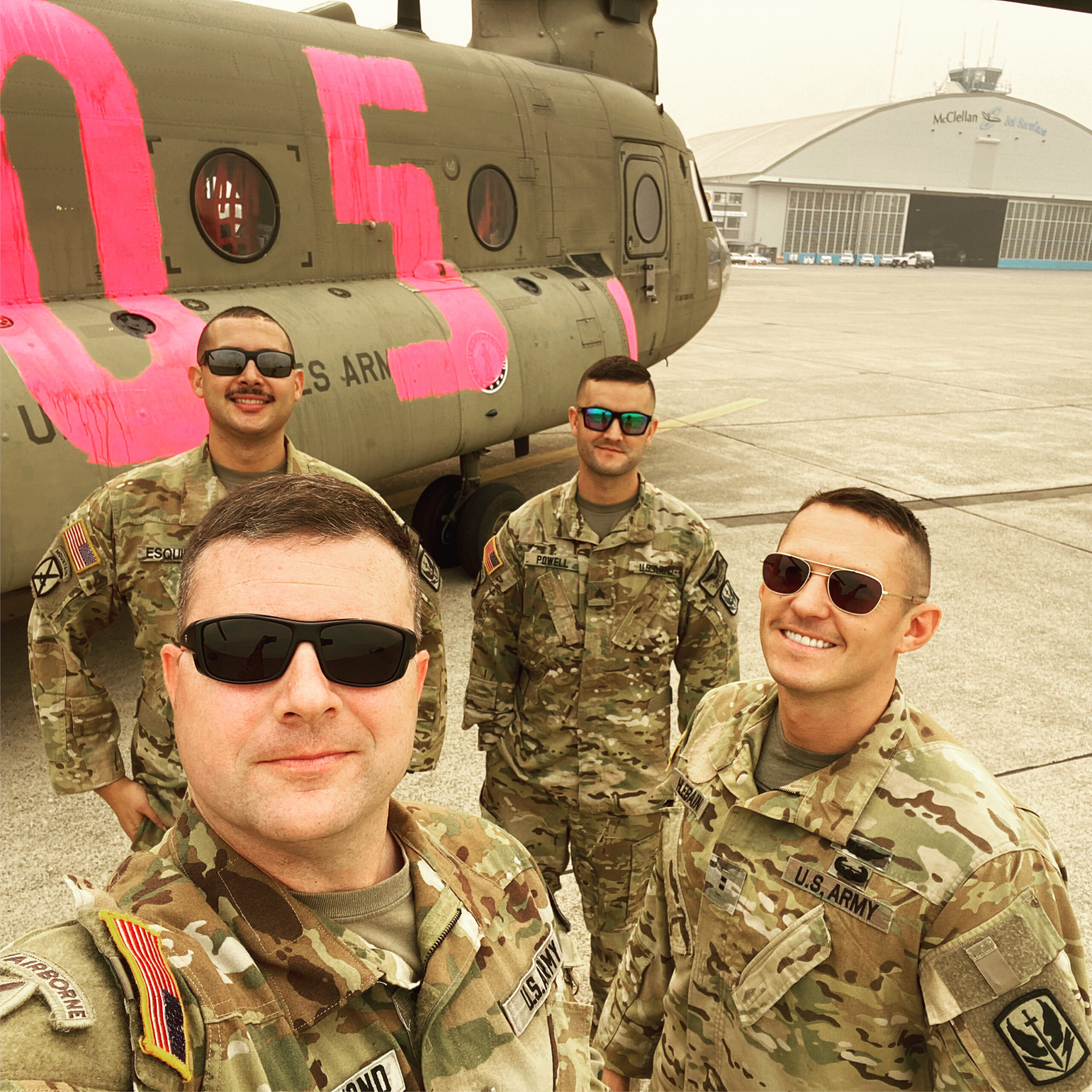CW5 Joe Rosamond, his CH-47 crew, and the crew of an accompanying UH-60 were responsible for saving the lives of hundreds of campers as the Creek Fire cut them off from escaping the flames.